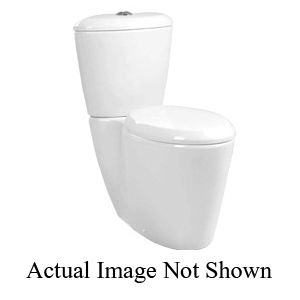 Mansfield® SmartHeight™ 177 WH Toilet Bowl Only, White, Elongated, 12 in Rough-In, 2-1/8 in Trapway, Enso™
