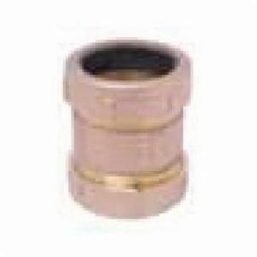 Matco-Norca™ 450T03LF Short Pattern Compression Coupling, 1/2 x 3/4 in, IPS x Slip Joint, Brass