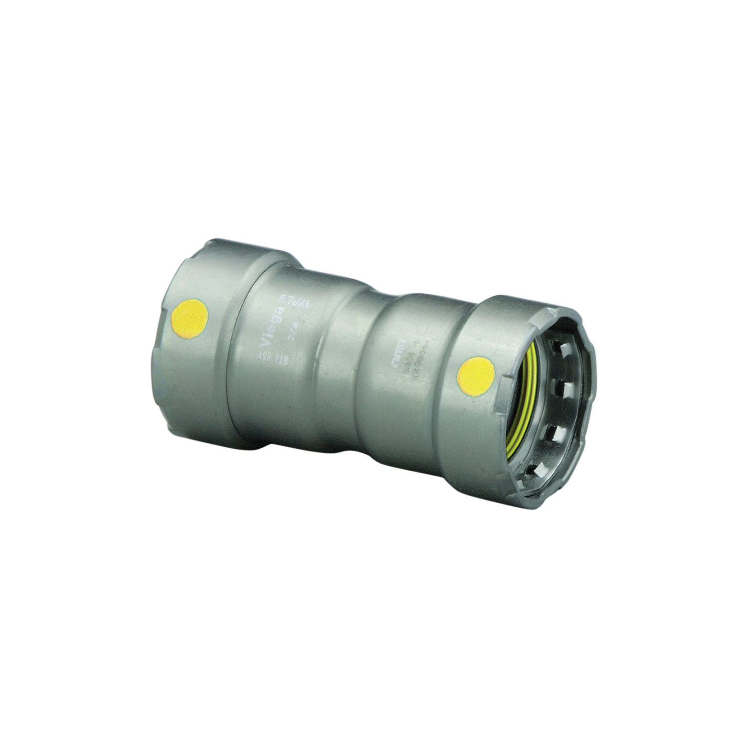 MegaPress®G 22009 Pipe Coupling With Stop, 3/4 in, Press