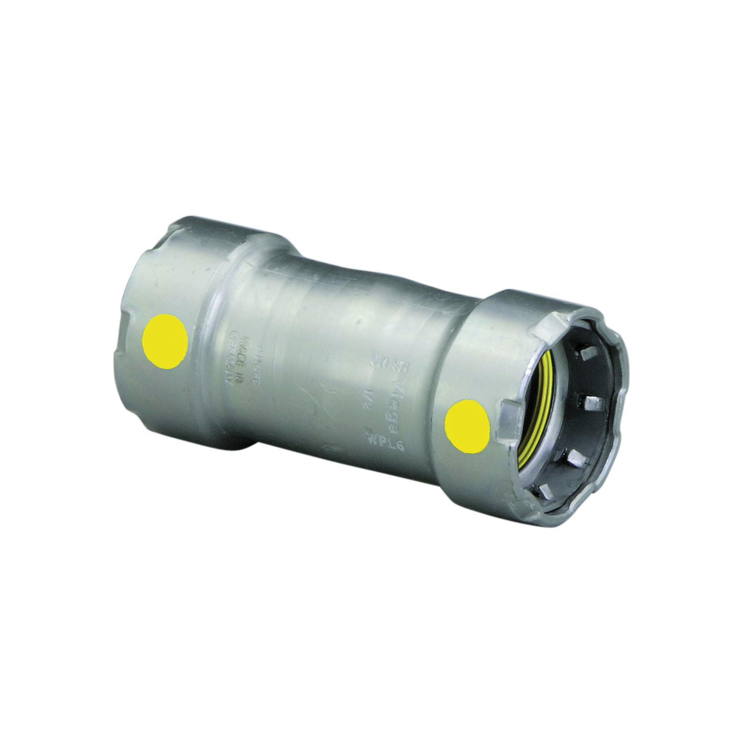 MegaPress®G 25031 Pipe Coupling Without Stop, 1/2 in, Press