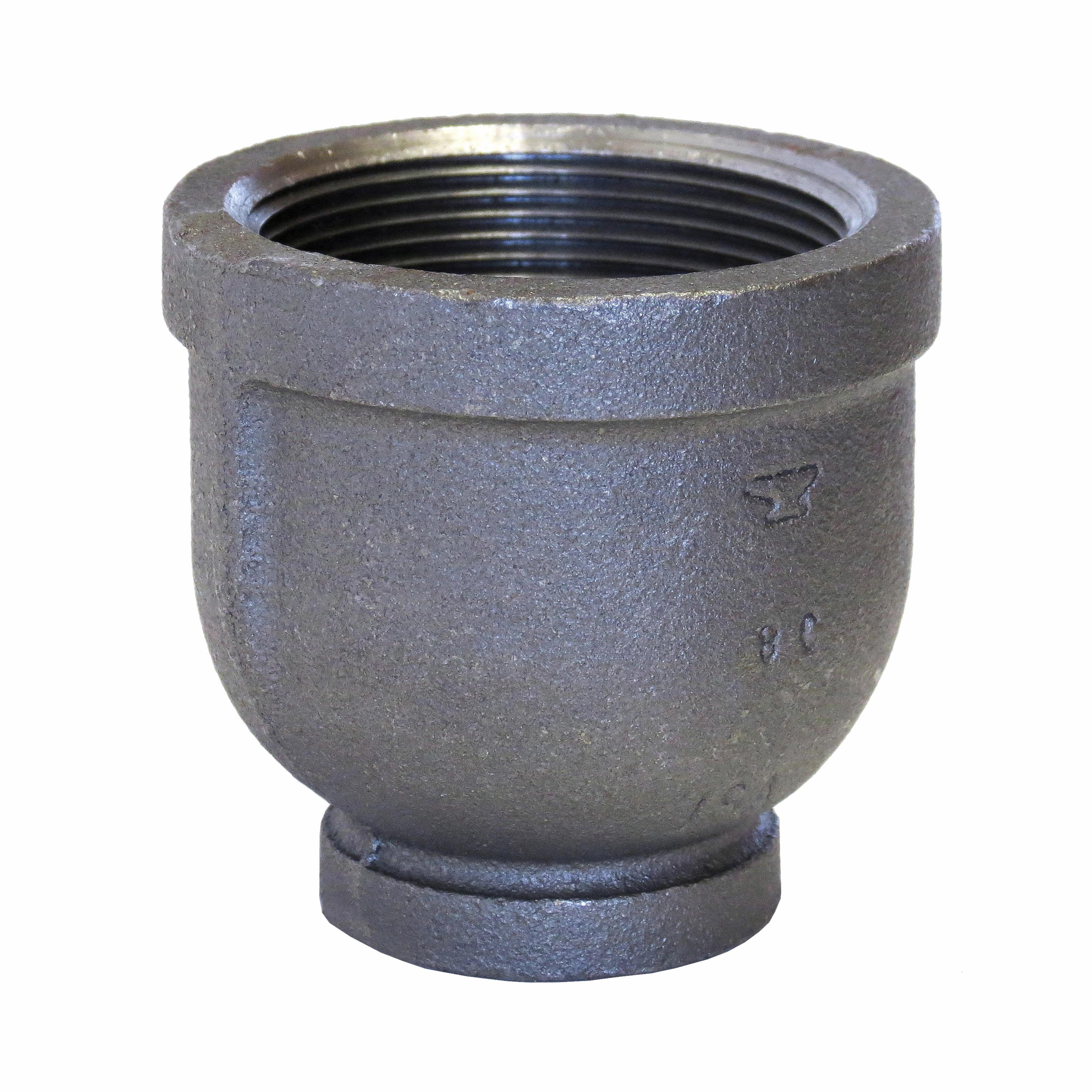 Anvil® 0811093012 Reducer, 4 x 2 in, Malleable Iron, Galvanized, Import