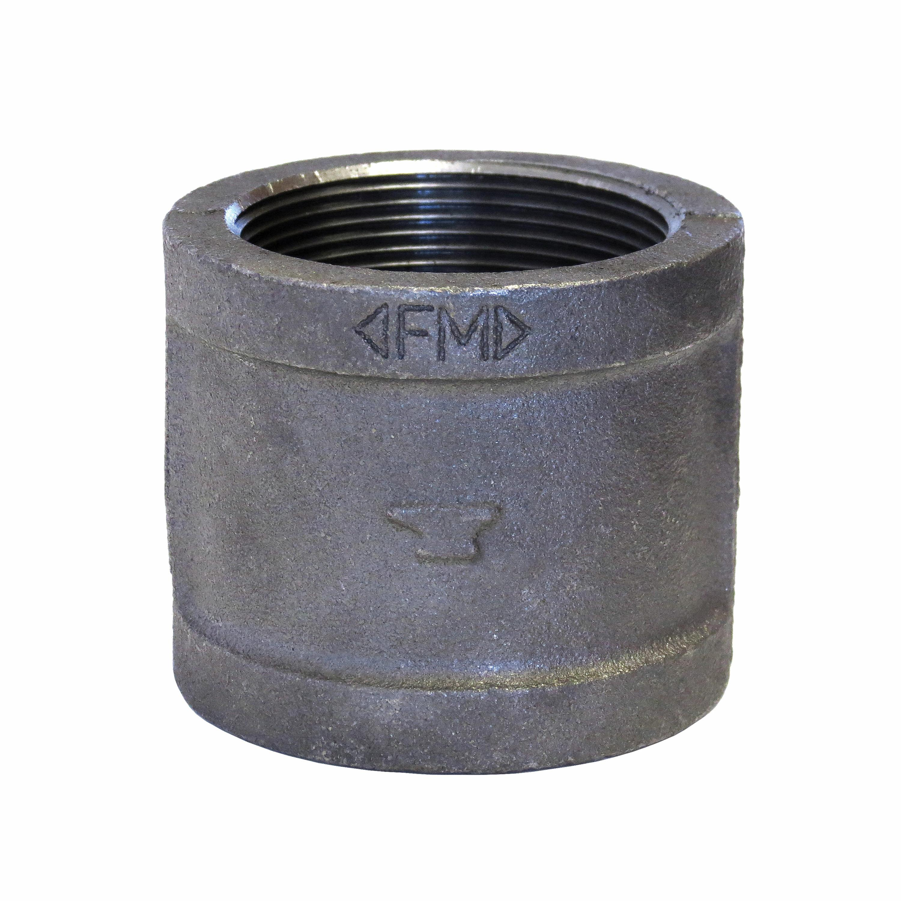 SPF/Anvil™ 0811080209 FIG 3121 Pipe Coupling, 1/2 in, FNPT, 150 lb, Malleable Iron, Galvanized, Import