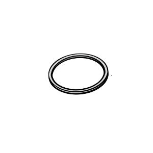 NDS® 1530403 80CS Flapper, For Use With Backwater Valve, PVC, White, Domestic