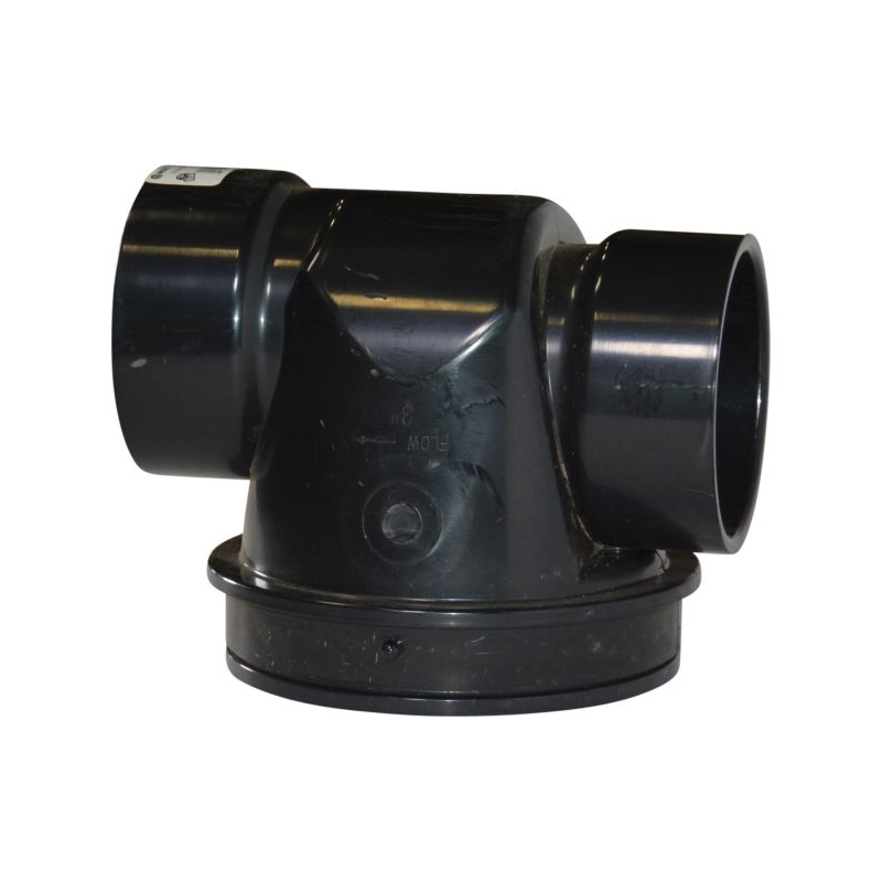 NDS® 375 Back Water Valve, 3 in, ABS Body, Import