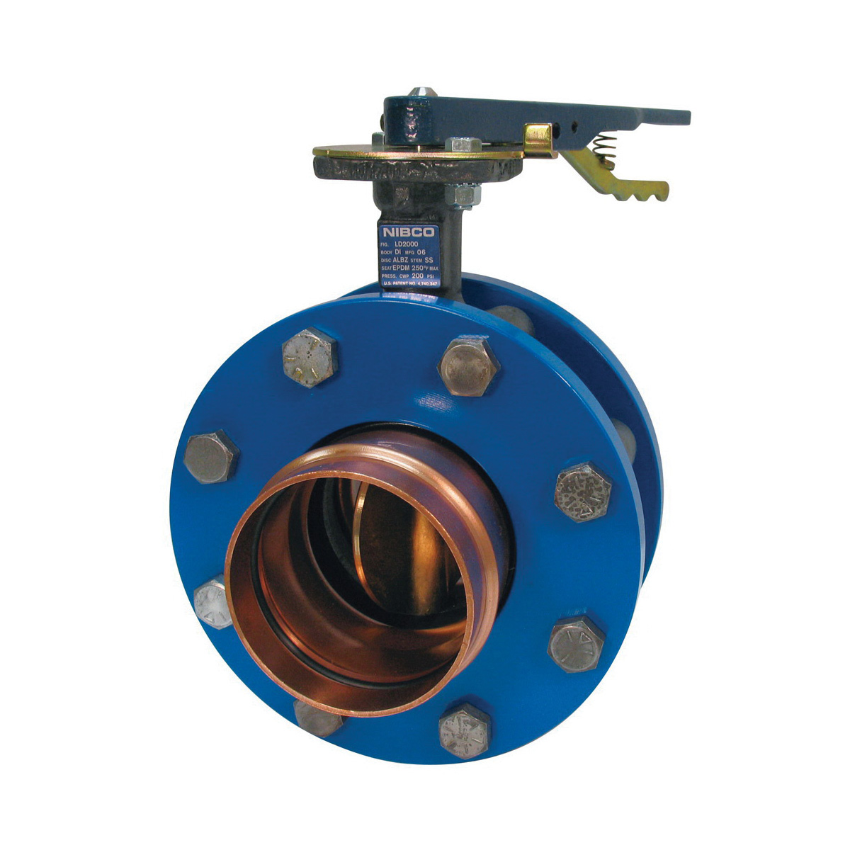 Nibco® PFD20003 Lug Style erfly Valve, 3 in, Press x ... on