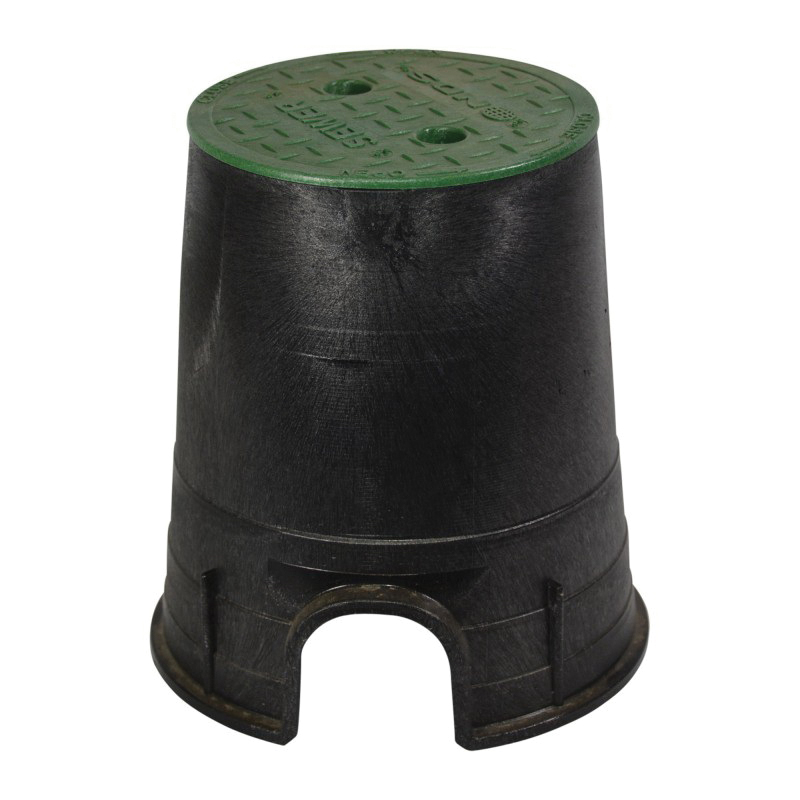 NDS® 107BCS Valve Box and Cover, 9 in L x 9 in H