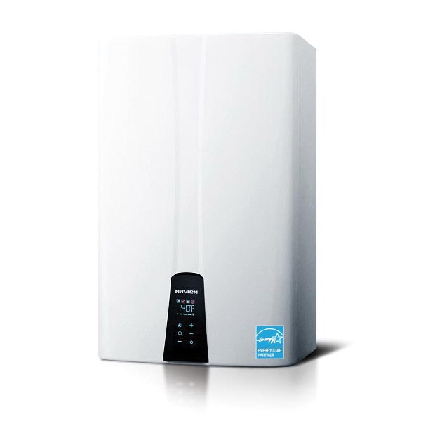 KD Navien® NPE-210A NPE-A Tankless Gas Water Heater, Natural/Liquid Propane, 180000 Btu/hr Heating, Condensing, 0.5 gpm, 2 in, 3 in Forced Draft Direct Vent, 0.96 Energy Factor, Commercial/Residential/Dual: Dual, Ultra Low NOx: No