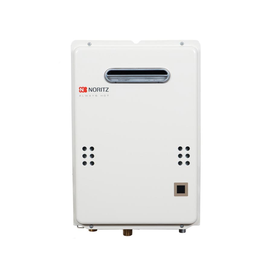 Noritz® NR501-OD-NG Mid Efficiency Tankless Water Heater, Natural Gas, 120000 Btu/hr Heating, Outdoor, 0.5 to 5 gpm, 0.81 Energy Factor, Commercial/Residential/Dual: Residential, Ultra Low NOx: No