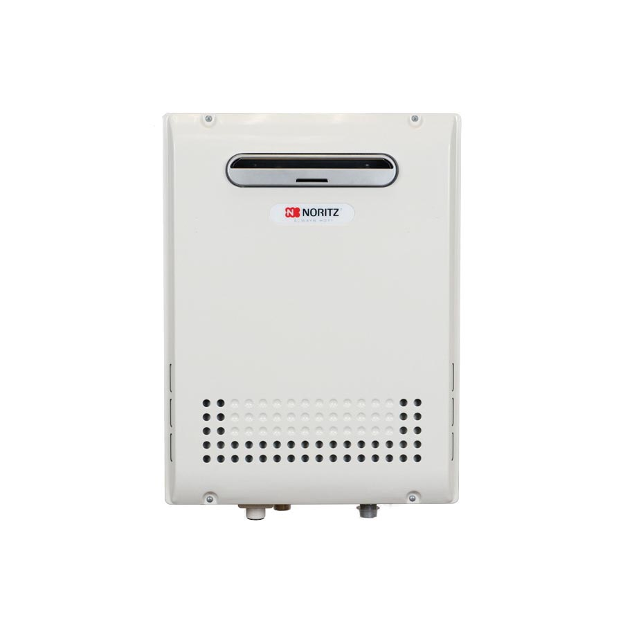 Noritz® NRC98-OD-NG High Efficiency Tankless Water Heater, Natural Gas, 180000 Btu/hr Heating, Outdoor, Condensing, 0.5 to 9.8 gpm, 0.92 Energy Factor, Commercial/Residential/Dual: Residential, Ultra Low NOx: No