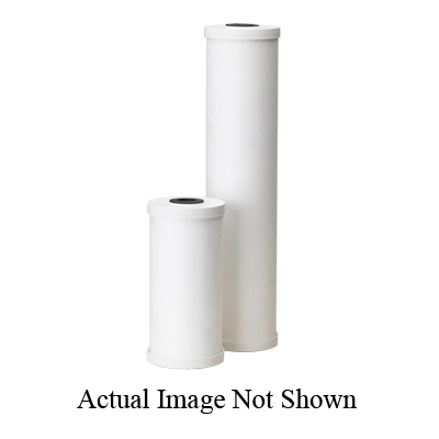 American Plumber 155141-51 Radial Flow Filter Cartridge, 9-3/4 in L, Granular Activated Coconut Carbon