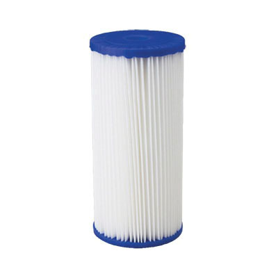 American Plumber W50PEHD Heavy Duty Sediment Filter Cartridge, 9-3/4 in L, Polyester, Domestic