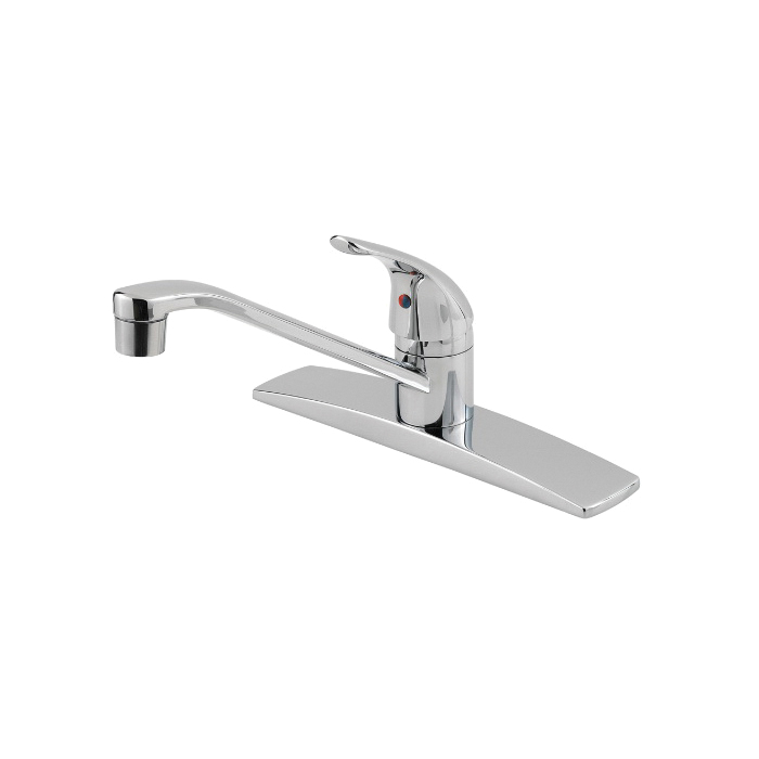 Pfister® Pfirst Series™ G134-1444 Professional Grade Kitchen Faucet, 1.8 gpm, 1 Handle, Polished Chrome