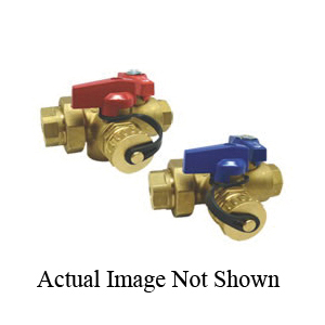 RWV® 3420RAB 3/4 Ball Valve, Brass