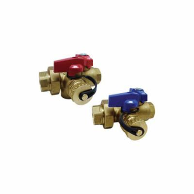 RWV® 3400RAB 3/4 Integral Relief Valve Kit, 3/4 in FNPT x Solder, 200000 Btu/hr, For Use With Tankless Water Heater, Brass