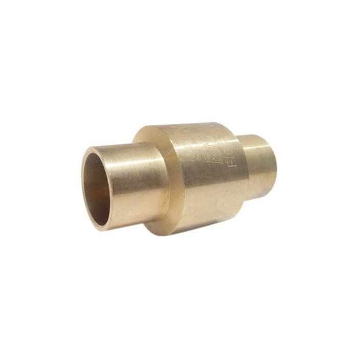 RWV® 233AB 3/4 In-Line Check Valve, 3/4 in, Solder, 200 lb WOG, Forged Brass Body, Low Lead Compliance: Yes