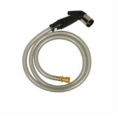 Tomahawk 242-10 Kitchen Hose Kit With Universal Coupling Connection, Black Head, Domestic
