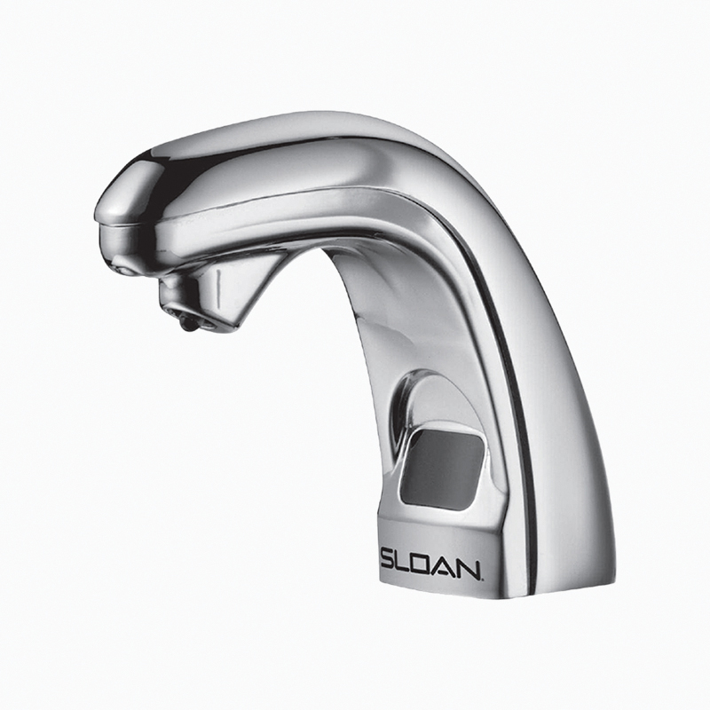 Sloan® 3346057 ESD-300 Optima® Sensor Activated Electronic Soap Dispenser, Brushed Nickel, 5-3/8 in OAL, Deck Mount, Brass, Commercial