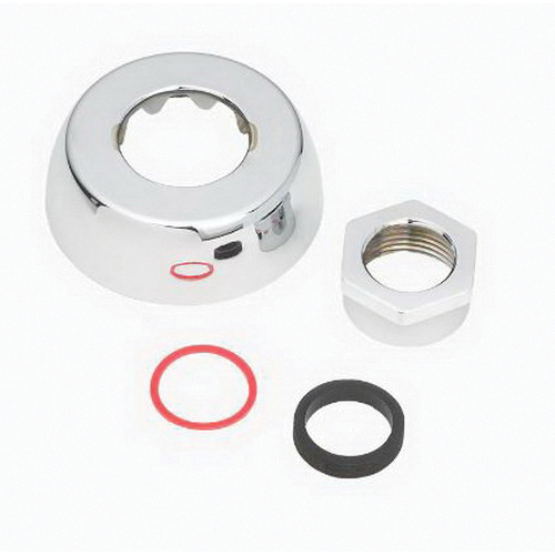Sloan® 0306146 F-5-AT Spud Coupling Assembly, For Use With: Royal® and Regal® Manual Flushometer, Brass, Silver