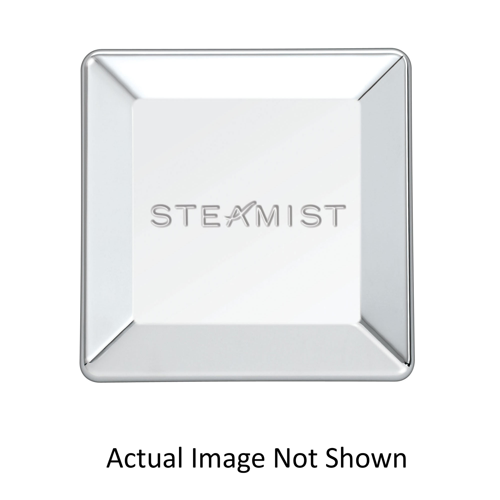 Steamist® 3199-BB Universal Steam Head, 3 in W x 3 in H, FNPT, Brass, Domestic