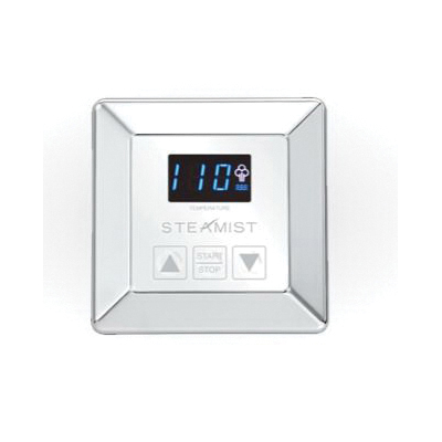 Steamist® SMC-150-PC Steambath Control, Digital Display, Polished Chrome, Domestic