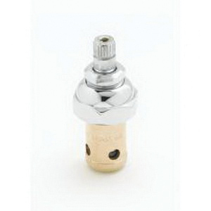 T & S 012443-40 Right Hand (Hot) Eterna Cartridge With Spring Check, For Use With All T and S Faucet, 11.25 gpm, 2-7/8 in H, Brass Filter, 40 to 140 deg F