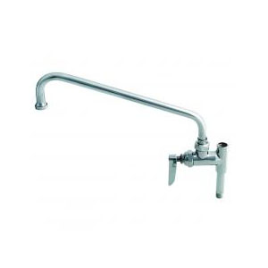 T & S B-0156 Add-On Faucet, 8.91 gpm, 1 Handle, Polished Chrome