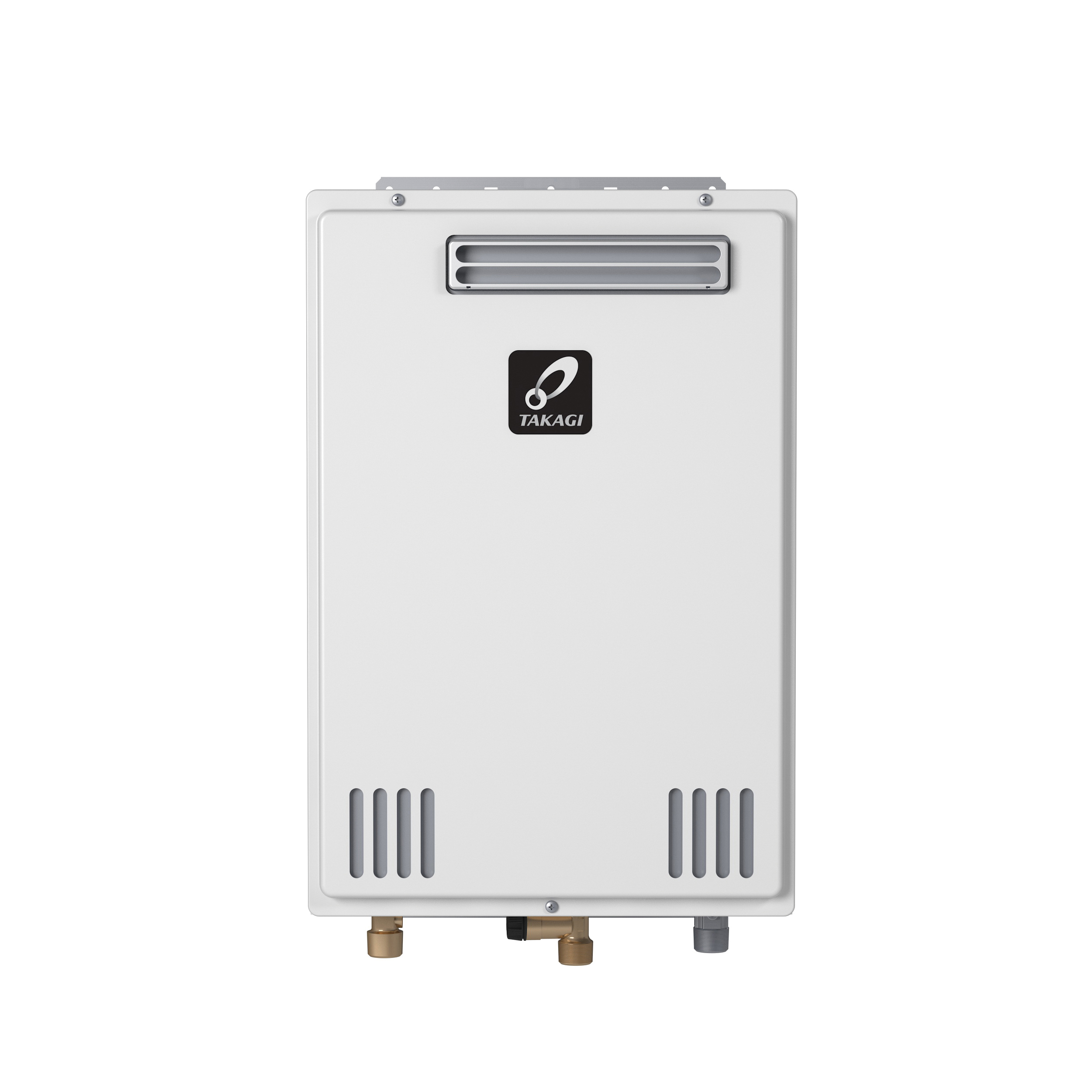 Takagi TD2UOSNNG T-D2U Tankless Water Heater, Natural Gas, 199000 Btu/hr Heating, Outdoor, Non Condensing, 10 gpm, 4 in, 0.82 Energy Factor, Commercial/Residential/Dual: Commercial, Ultra Low NOx: Yes