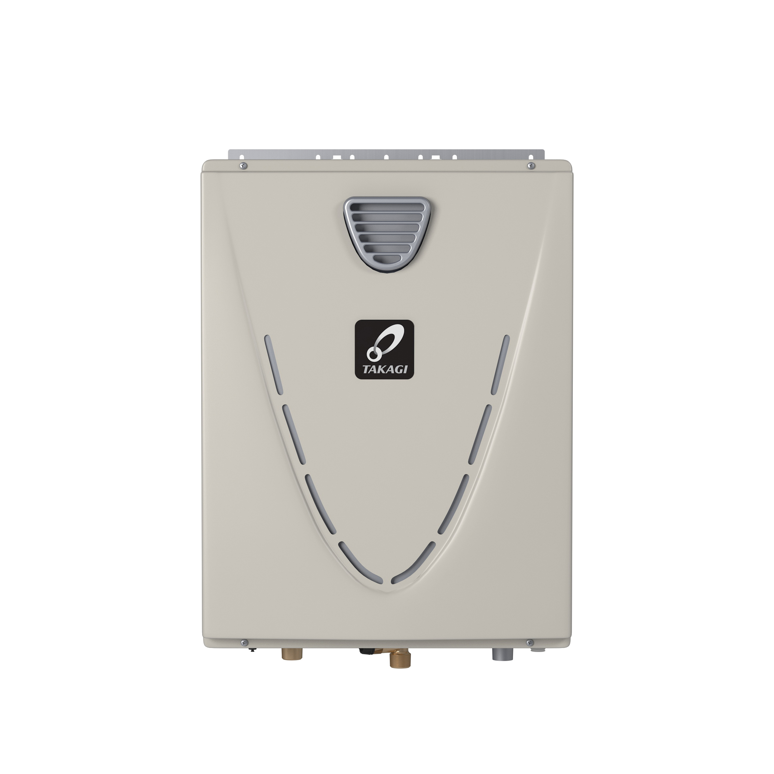 Takagi 100123390 H3 Tankless Water Heater, Natural Gas, 199000 Btu/hr Heating, Outdoor, Condensing, 10 gpm, 4 in, 0.95 Energy Factor, Commercial/Residential/Dual: Dual, Ultra Low NOx: Yes