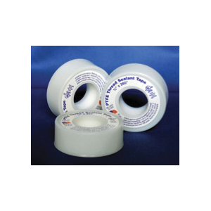 Cleanfit 70989 Medium density Thread Seal Tape, 520 in L x 1/2 in W x 0.0025 in THK, 10000 psi, PTFE, Domestic