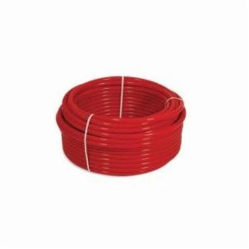 Uponor AquaPEX® F2040750 Tubing, 3/4 in Nominal, 0.671 in ID x 7/8 in OD x 100 ft Coil L, Red, PEX