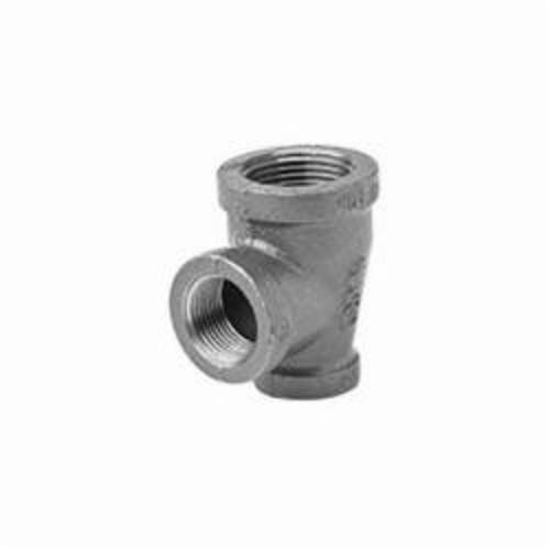 Ward Mfg 1BX1X1.BMT Reducing Pipe Tee, 1-1//4 x 1 x 1 in, FNPT, 150 lb, Malleable Iron, Black, Domestic