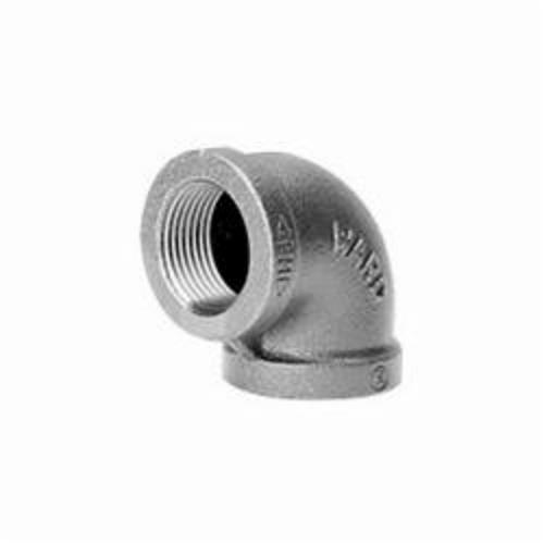 Ward Mfg D.NML 90 deg Pipe Elbow, 1/2 in, FNPT, 150 lb, Malleable Iron, Galvanized, Domestic