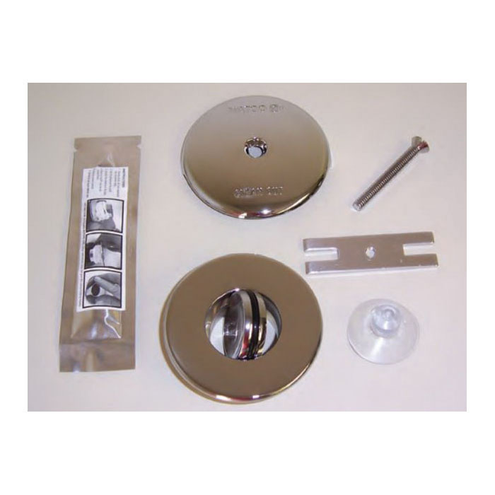 Watco® 48100-CP NuFit®, PRESFLO® Single Hole Trim Kit, Brass, Chrome Plated