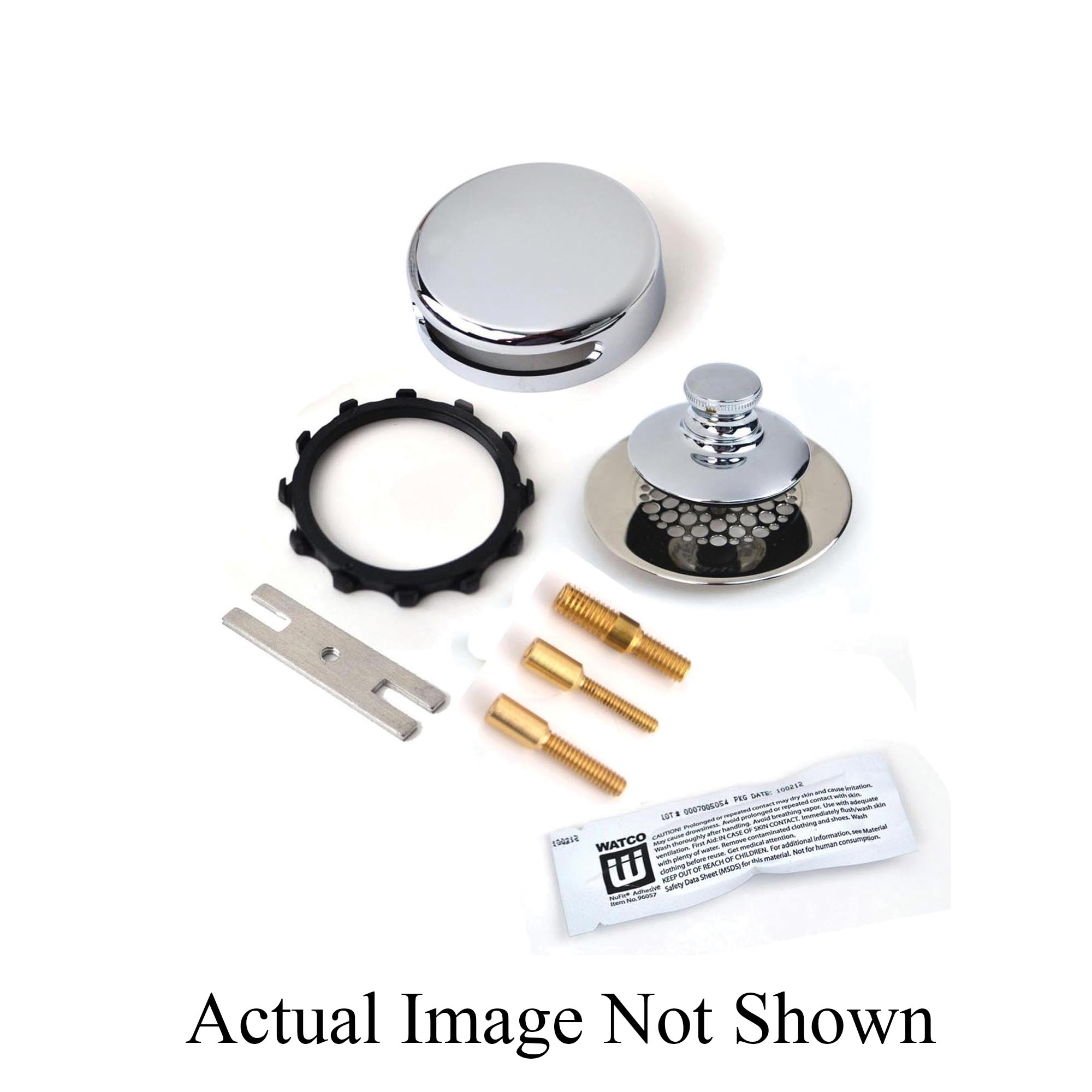 Watco® Universal NuFit® 948700-PP-BN-G-3P Trim Kit With Grid Strainer