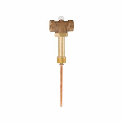 WATTS® 0295399 LF210-5, LFLLL210-5 M2 Automatic Shutoff Valve With 5 in Thermostat Extension, 3/4 in, Domestic