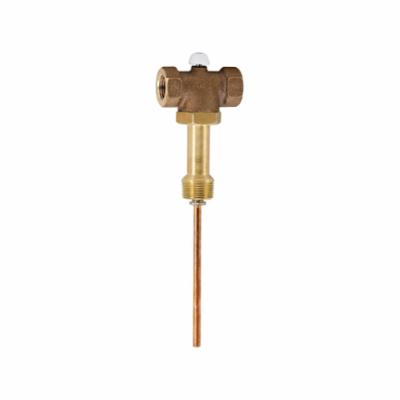 WATTS® 0556027 LF210-5, LFLL210-5 M2 Automatic Shutoff Valve With 5 in Thermostat Extension, 3/4 in, Domestic