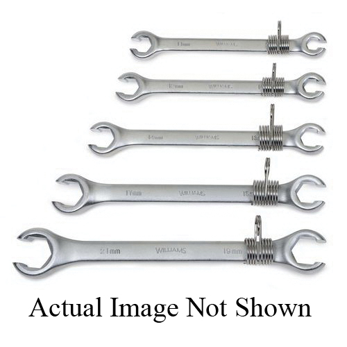 """Williams SNAP-ON 1725 OPEN END DOUBLE HEAD WRENCH 7//16/"""" X 1//2/"""" 5-31//32/"""""""