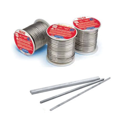 Worthington™ WS10098 Solder Wire, 1/8 in, 227 to 250 deg C Melting, Spool, 50% Tin/50% Lead