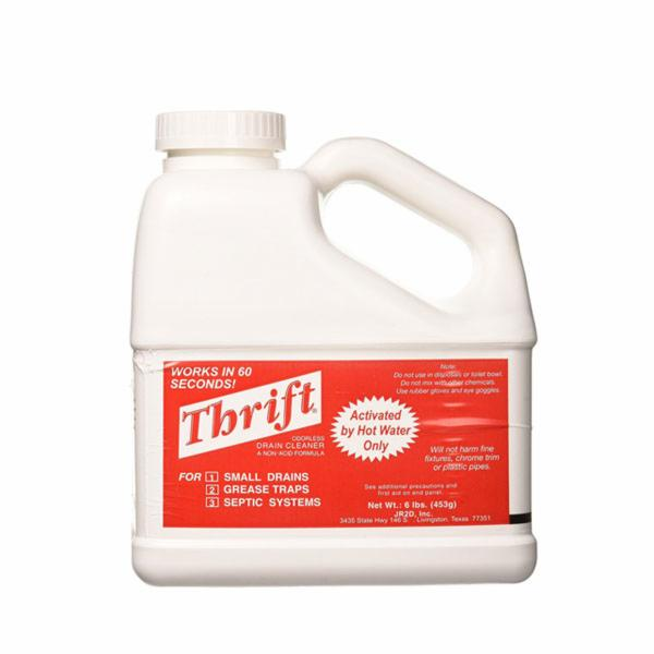 Perfecto T-600 Thrift Drain Cleaner 6LB